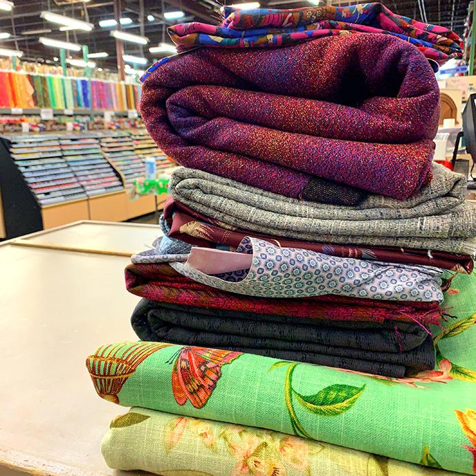 Osgood Textiles Fabric Haul
