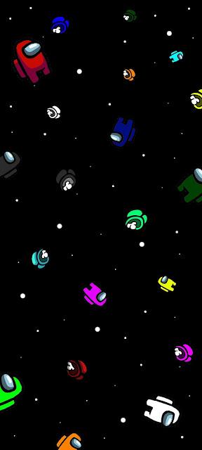 Hình nền Amoung Us (siêu tiết kiệm pin cho màn hình AMOLED)