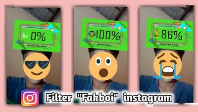 Filter fakboi instagram | Cara mudah dapatkan filter fakboi instagram