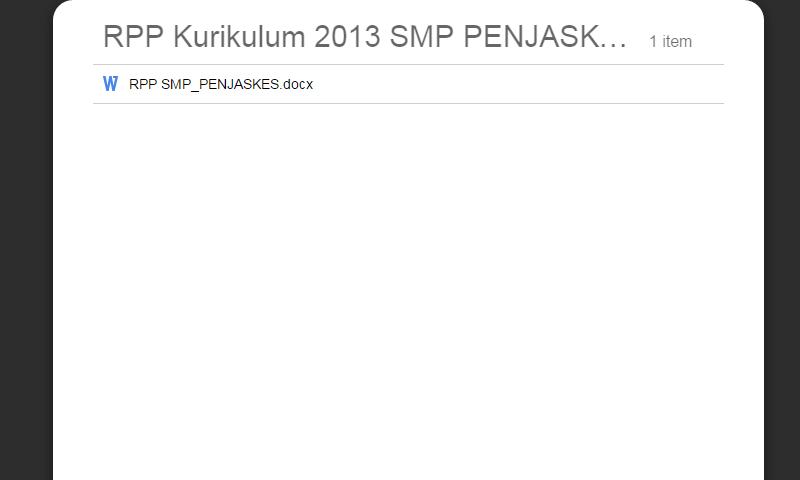 RPP Kurikulum 2013 SMP PENJASKES Kelas 7-8-9 Lengkap Revisi Terbaru