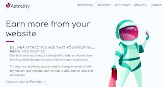 Astrality, empresa de monetización web