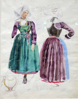 François Hippolyte Lalaisse, Femmes de Pont-Aven et Concarneau