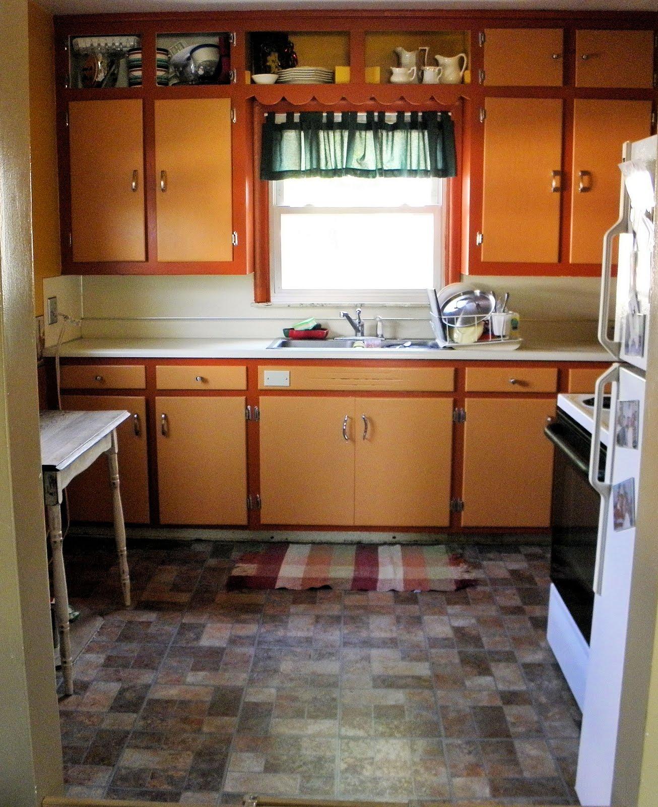 Shabby Love Stripping Kitchen Cabinets Tutorial