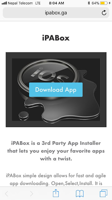 Downloading IPABox is now possible on iPhone/iPad running iOS 11/10 without jailbreak. Here's how you can easily download and install iPABox (Cydia Alternative) on iOS 11/10