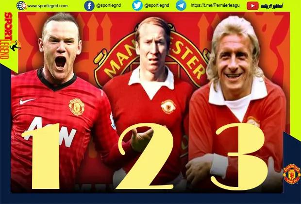 قائمة اللاعبين العشرة الافضل في مانشستر يونايتد