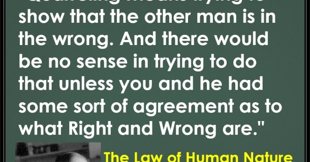 Christian Journey Mere Christianity Bk 1 Ch 1 The Law Of