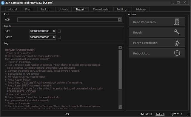 Z3X Samsung Tool Pro v33.7 Original Crack Free Download