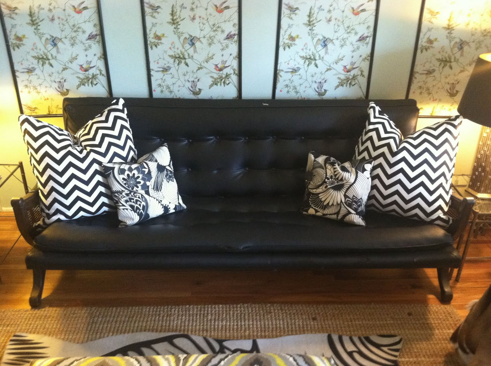 Vintage Hollywood Regency Style Sofa Couch For Sale