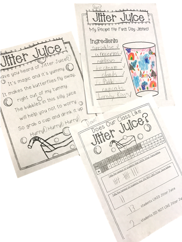 jitter juice activity and poem