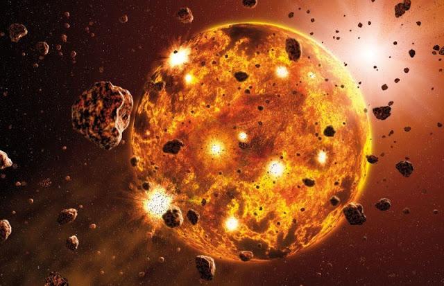 الأرض في مرحلة الحجيم قبل 4 مليار سنة