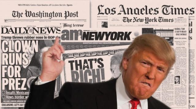 """Trump chiama il New York Times e il Washington Post """"nemici del popolo"""""""