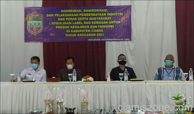 Tingkatkan Kualitas, DKUKMP Sosialisasikan Kemasan Produk