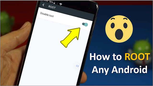 How to get root access on any android device.