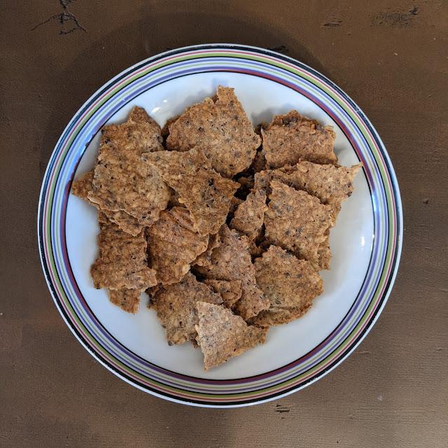 Crackers salé fait maison