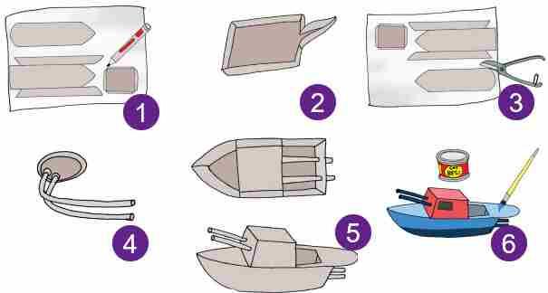 Membuat Kapal Otok-Otok