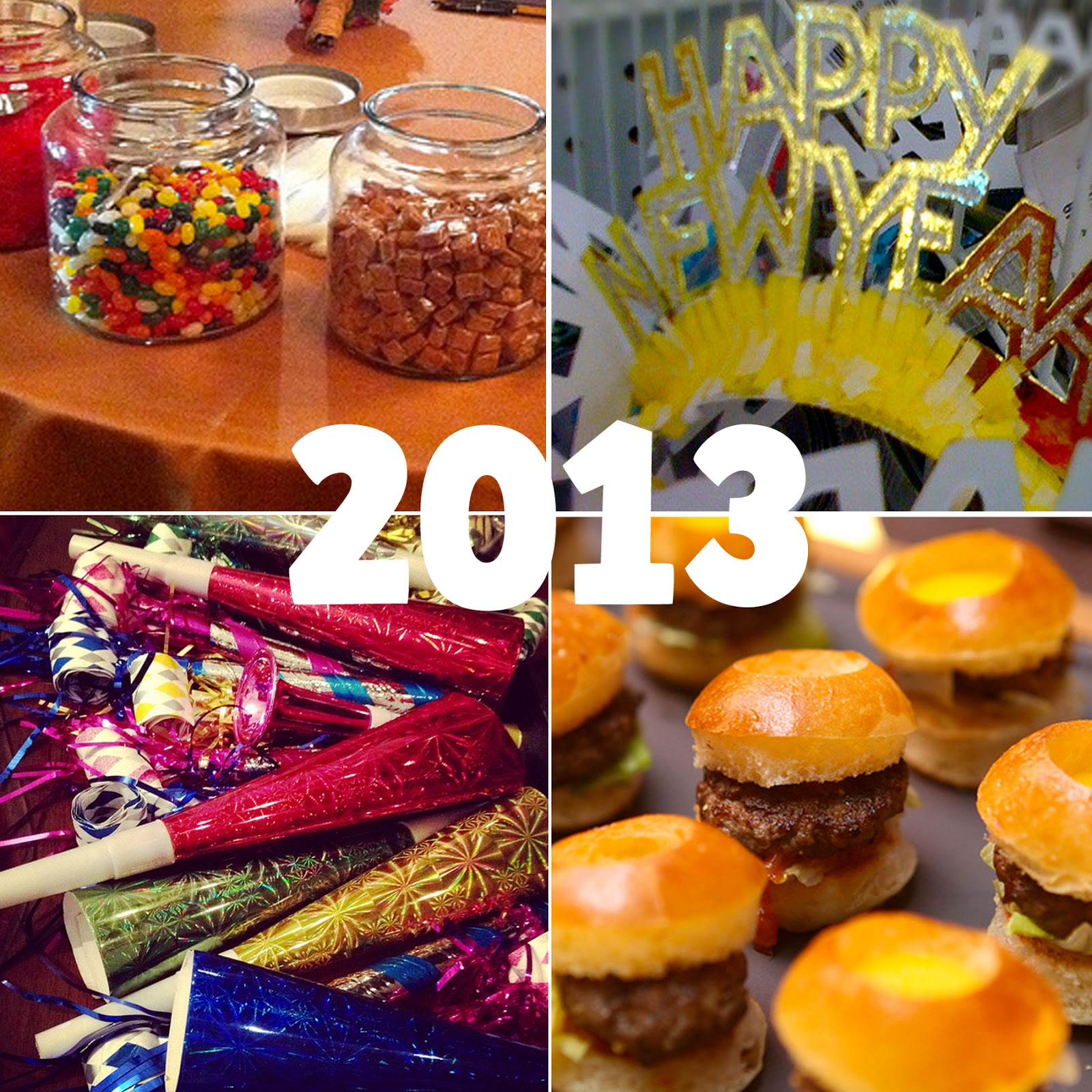 Honey & Butter: New Year's Eve Party Favor Ideas