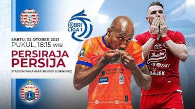 Link Live Streaming BRI Liga 1 Persiraja Vs Persija Jakarta