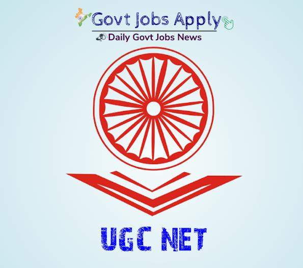 UGC NET Latest Govt Jobs