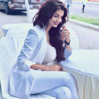 Anveshi Jain White dress