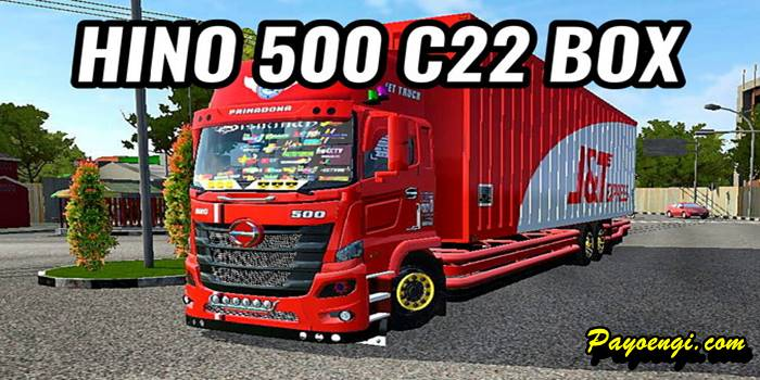 mod hino 500 c22 box