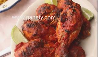 طريقة الدجاج التندوري الهندي بالصور
