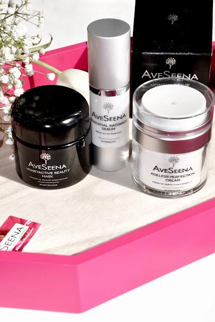 AveSeena Skincare Line