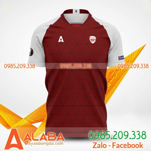 Áo bóng đá đặt may mã ALB 124 xịn