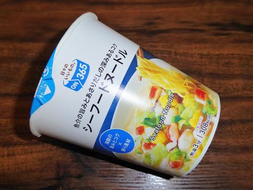 【ON365(コスモス薬品のプライベートブランド)】シーフードヌードル
