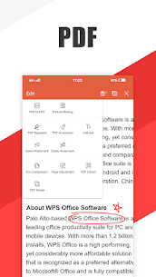 WPS Office Suite for Word PDF Excel Mod APK