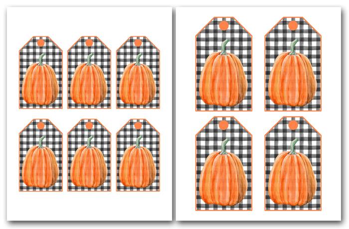 Free Tag Printables for Halloween