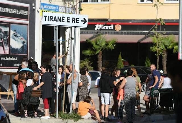 Un forte terremoto colpisce l'Albania, almeno 100 feriti