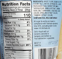 click for nutrition facts and ingredients