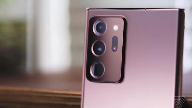 Kamera HP Terbaik Tahun 2021 - Samsung Galaxy Note 20 Ultra