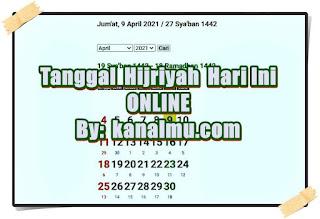 kalender hijriyah islam online - kanalmu