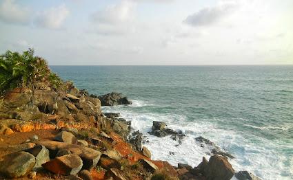 Cliffs at Cape Three Points