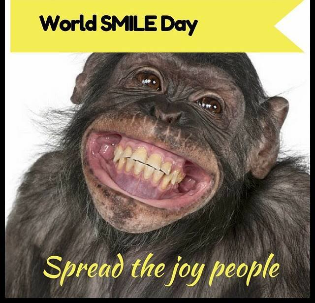 World Smile Day Wishes Awesome Picture