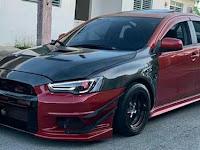 Koleksi Foto Mitsubishi Lancer Warna Merah