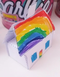 Σπίτι για δώρο γενεθλίων εκτυπώσιμο