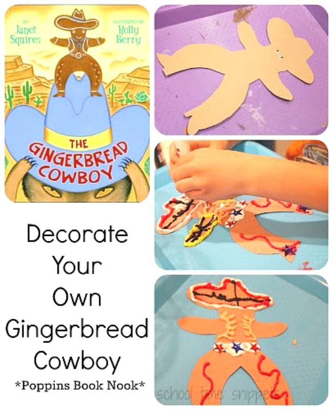 The Gingerbread Cowboy Activity