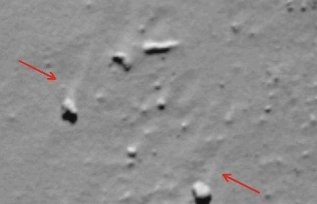 Mysterious outburst of activity from Spaceship 67P  Spaceship%2Bcomet%2B67P%2B%25281%2529