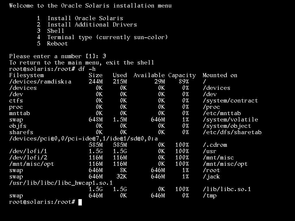 Recover root password on Solaris 11 ~ The Infra Diary