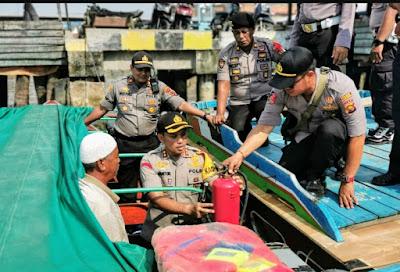 Ini Himbauan Kapolres Tanjab barat Kepada Kapten Kapal, ABK Dan Masyarakat Menjelang Natal Dan Tahun Baru
