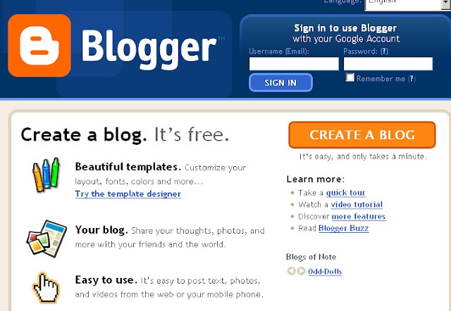 How to create a new Blog? How to create new and Unique Article in my BLog?