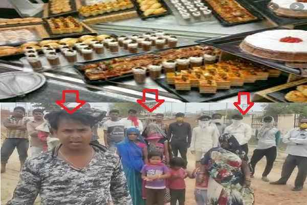 faridabad-sweet-shop-closed-in-lock-down-distribute-in-poor