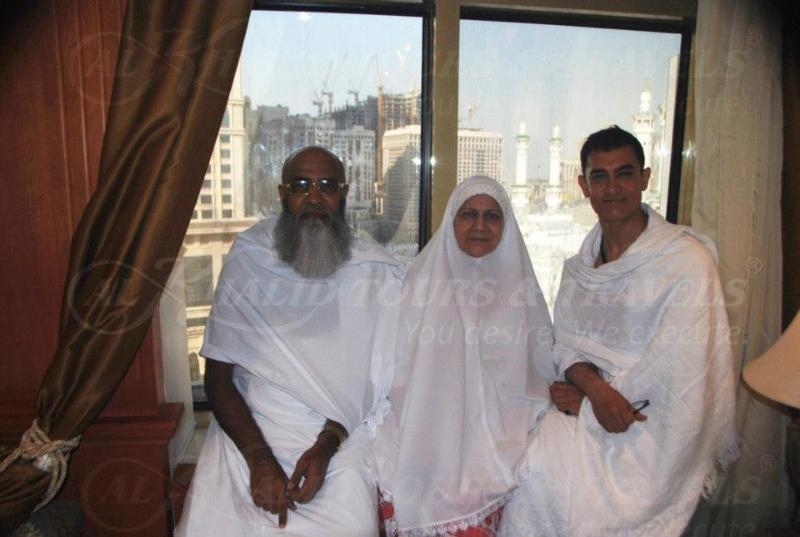Latest Pics : Shahid Afridi, Aamir Khan And Moulana Tariq