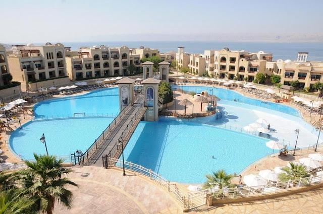 Jordanië, Dode Zee, wellness in Jordanië, Dead Sea Jordan, kuren aan de Dode Zee