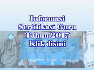 sertifikasiguru.id sertifikasi guru 2017