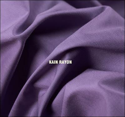Bahan kain untuk gamis yang bagus