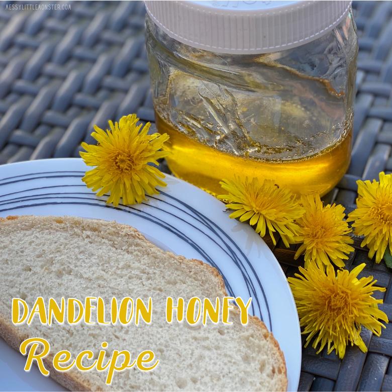 Dandelion honey recipe