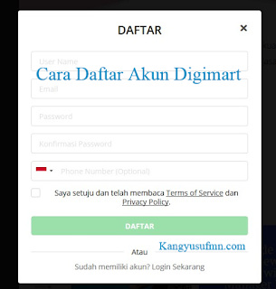 Cara Daftar Akun Digimart Situs Freelancer Indonesia Terbaik Terpercaya dan Berkualitas